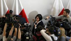 Spotkanie ambasador Izraela w Polsce Anny Azari z marszalkiem Senatu Stanislawem Karczewskim ws. nowelizacji ustawy o IPN
