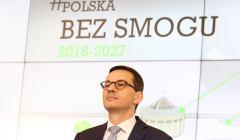 Konferencja premiera Morawieckiego o smogu
