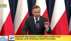 Prezydent Andrzej Duda, 6.I.2018