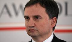 Konferencja ministra Ziobro