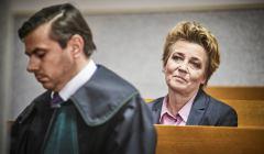 Prezydent Lodzi Hanna Zdanowska po ogloszeniu wyroku
