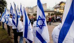 Młodzież żydowska z Kiryat Bialik w Radomsku , 10 marca 2017 r.