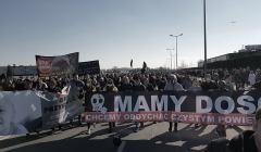 Mielec, 25 marca 2018, protest, fot. Andrzej Kozdęba