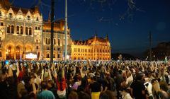 Demonstracje w Budapeszcie, 15 kwietnia 2018