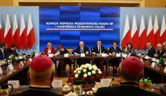 Posiedzenie Komisji Wspolnej Rzadu RP i KEP
