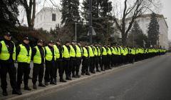 Protest w obronie wolnych mediow