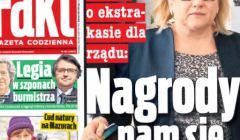 Beata Kempa, okładka Fakt, 22 marca 2018