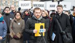 Konferencja warszawskich ruchow miejskich ws. wyborow samorzadowych