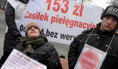 Protest-opiekunow-osob-niepelnosprawnych-pod-kance