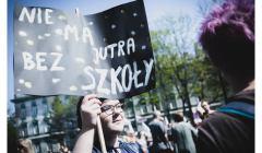 nauczyciele, protesty, fot. Agata Kubis
