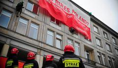 Protest Greenpeace pod Ministerstwem Gospodarki