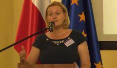 Joanna Bitner na Nadzwyczajnym Kongresie Sędziów Polskich. Fot. screen