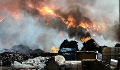 Pożar w Zgierzu - wulkan1