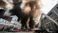 Pożar w Zgierzu1