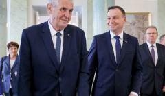 Milos Zeman i Andrzej Duda, 10 maja 2018