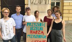 Licealiści popierają strajk na uczelniach