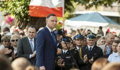 Spotkanie z prezydentem Andrzejem Duda w Strzelinie