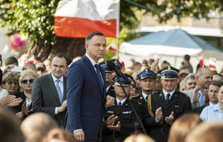 Wystąpienie prezydenta podczas wizyty na Wołyniu