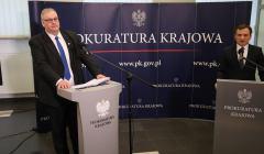 Konferencja prasowa prokuratorow Bogdana Swieczkowskiego i Zbigniewa Ziobry na temat zatrzymania Jacka Kapicy