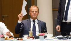 Donald Tusk, szczyt Rady Europejskiej, 29 VI 2018