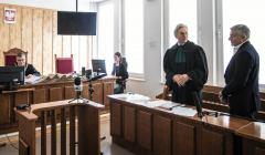 Rozprawa w Sadzie Rejonowym w Warszawie przeciw Wladyslawowi Frasyniukowi
