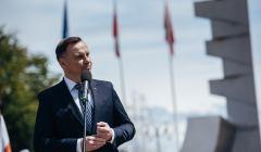 Odsloniecie Pomnika Polski Morskiej w Gdyni