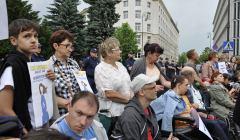 26.05.2018 Akcja Dzień SuperMatki pod SEjmem. Fot. Bianka Mikołajewska