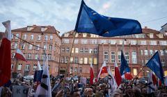 Protest w Gdansku w obronie Sadu Najwyzszego