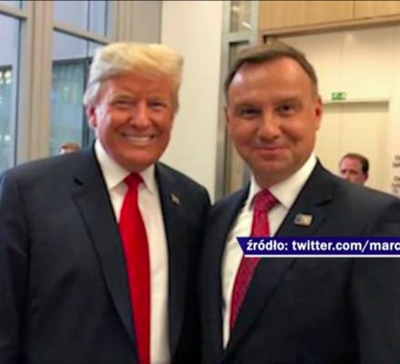 """Trump demoluje NATO, PiS zachwycony. """"Trudno odepchnąć argumenty Trumpa"""""""