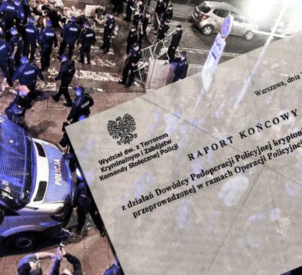 """Policja polityczna. Operacja """"Rekonesans"""" - setki tajniaków śledziły manifestujących [CZĘŚĆ I]"""