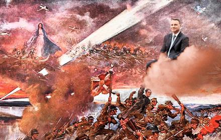 Ponad połowa Polaków zgadza się z Dudą, że Matka Boska stoi za zwycięstwem w Bitwie Warszawskiej