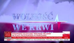 relacja TVP Info, Wolność we krwi, Święto Wojska Polskiego, 15 sierpnia 2018