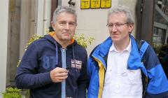 Tadeusz Jakrzewski (z lewej) i Władysław Frasyniuk