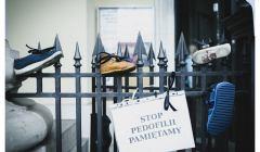 akcja przeciwko pedofilii w Kościele, 26 sierpnia 2018, fot. Agata Kubis