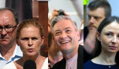 Lewicowa Koalicja - Biedroń, Czarzasty, Nowacka, Dziemianowicz-Bąk, Zandberg