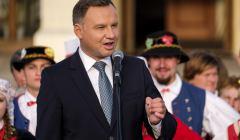 Wizyta prezydenta Andrzeja Dudy w Lezajsku