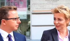 Dariusz Joński i Hanna Zdanowska