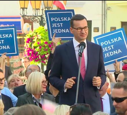 Morawiecki: rządy PO-PSL nie budowały dróg ani mostów. Kronika Skórzyńskiego (15-21 września 2018)