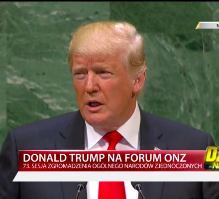 Trump chwali siebie i Polskę, prawica zachwycona: