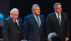 Wałęsa, Kwaśniewski, Komorowski