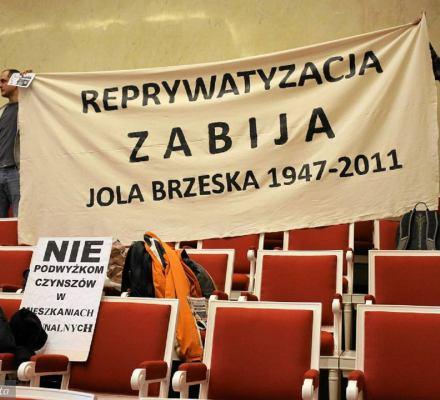 Kaczyński i Gronkiewicz-Waltz kłócą się o Jolantę Brzeską. Oboje powinni milczeć w tej sprawie