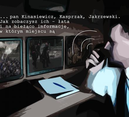"""""""Łata na niego i cały czas, non stop"""", czyli obława na obywateli. Ujawniamy nagrania z policyjnych radiostacji"""