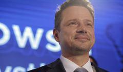 Wybory samorzadowe 2018 - wieczor wyborczy w sztabie Koalicji Obywatelskiej w Warszawie
