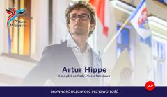 Hippe plakat