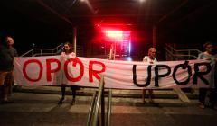 Protest pod Sadem Okregowym w Krakowie