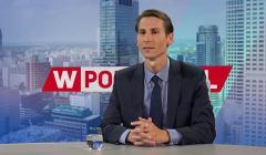 Kacper Płażyński w telewizji wPolsce.pl. Fot. screen