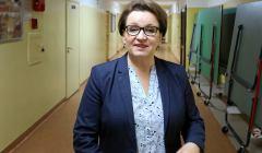 Minister Anna Zalewska w szkole