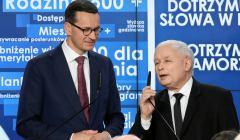 Wybory samorzadowe 2018 - wieczor wyborczy w siedzibie Prawa i Sprawiedliwosci w Warszawie