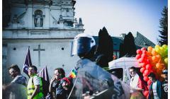 Marsz Równości , Lublin, październik 2018