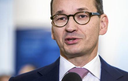 Na zdjęciu: prezes Rady Ministrów Mateusz Morawiecki